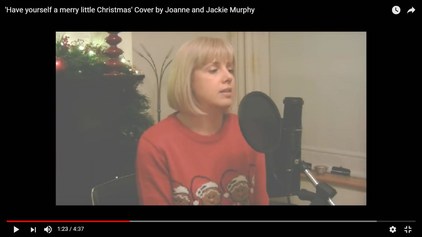have yourself a merry little christmas paul simon cover by jackie and joanne murphy and the carl hession ensemble cover by joanne and jackie murphy - James Taylor Have Yourself A Merry Little Christmas